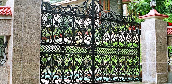 ... Collapsible Gates Compound Gate Staircase Railing Structural Work